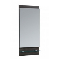 Elegance Aquatrend Avola Grey Mirror With Shelf